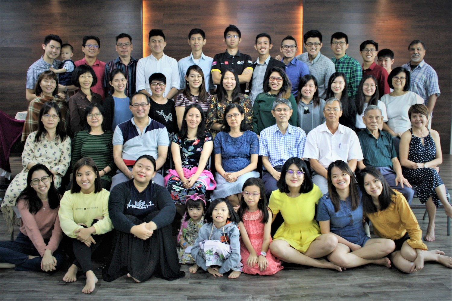 Members of Grace Reformed Church Malaysia