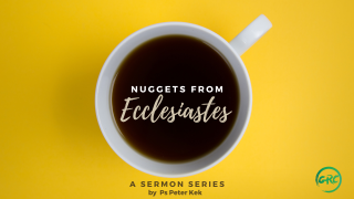 Nuggets From Ecclesiastes Series Graphic