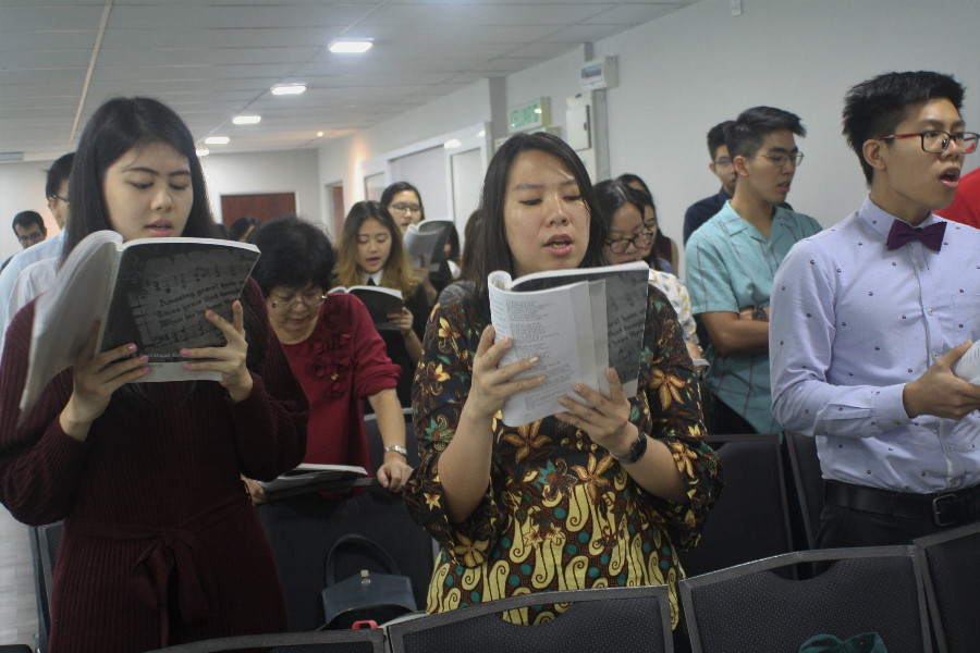 Congregational Worship at Grace Reformed Church Malaysia