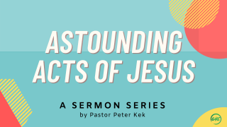 Astounding Acts of Jesus series graphics